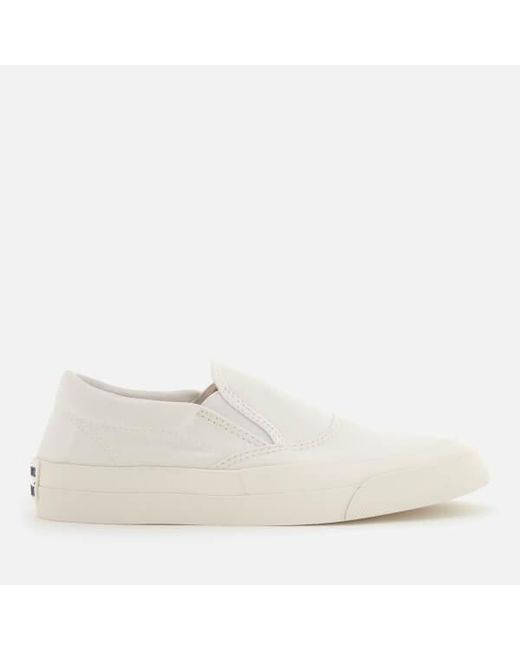 Maison Kitsuné White Slip-On Sneakers 5ltcvJ
