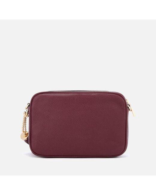 b0e2cd5ad0b30 ... Lyst MICHAEL Michael Kors - Purple Women s Ginny Medium Camera Bag ...