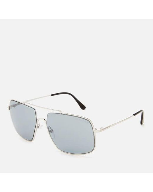 d0b2bde1a1d ... Lyst Tom Ford - Multicolor Men s Aiden Aviator Style Sunglasses for Men  ...
