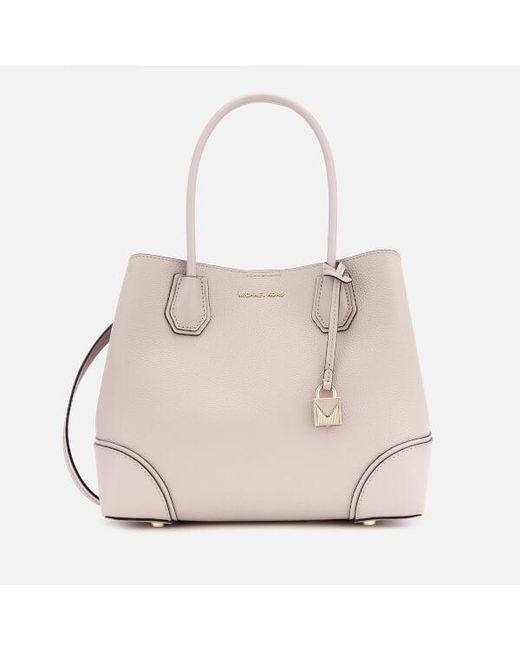 MICHAEL Michael Kors - Pink Women's Mercer Gallery Medium Tote Bag - Lyst