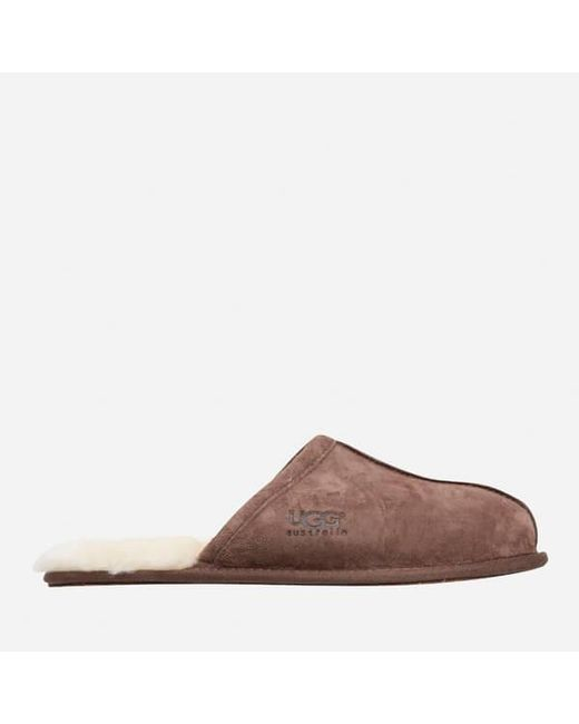 Ugg - Multicolor Men's Scuff Suede Sheepskin Slippers for Men - Lyst