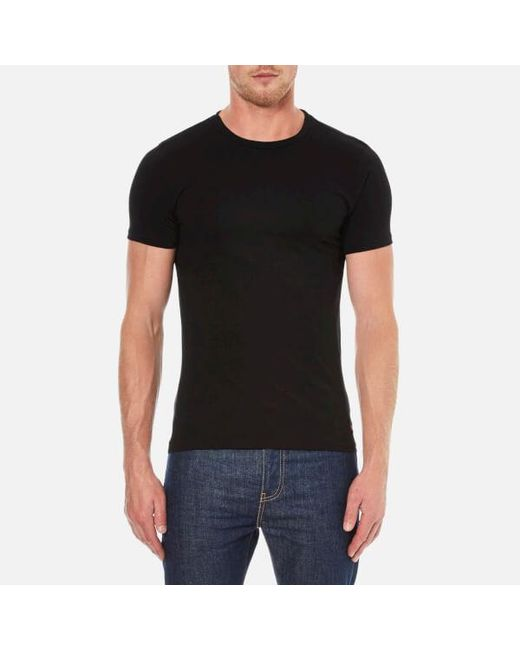 Polo Ralph Lauren | Black Men's 2 Pack Short Sleeve Tshirt for Men | Lyst