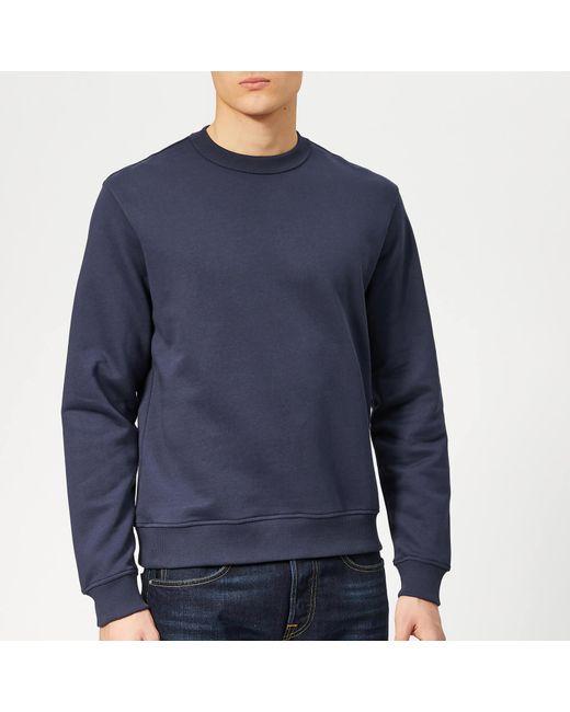 391e960b KENZO - Blue Back Logo Sweatshirt for Men - Lyst ...