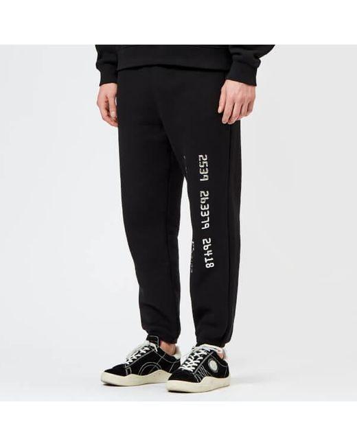 56676ac6cb5 Alexander Wang Men s Credit Card Decal Sweatpants in Black for Men ...