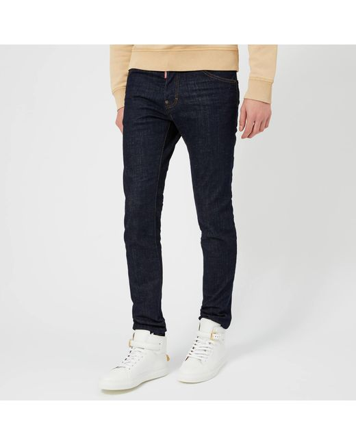 92cbe75d592 DSquared² - Blue New Nubs Wash Cool Guy Jeans for Men - Lyst ...