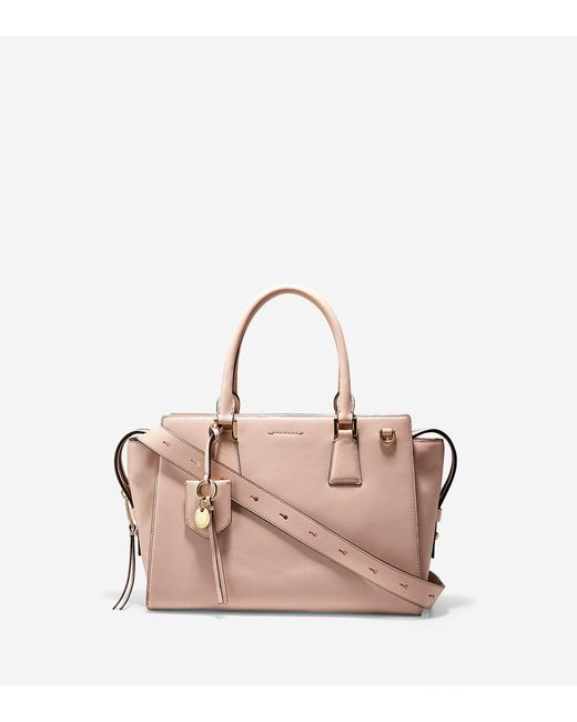 Cole Haan | Pink Marli Square Satchel | Lyst