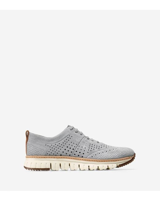 Cole Haan | White Zerøgrand Perforated Sneaker for Men | Lyst