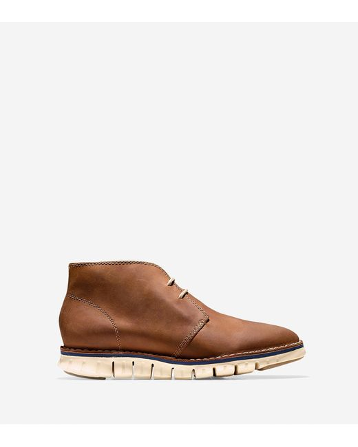 Cole Haan | Brown Men's Zerøgrand Stitch Out Chukka for Men | Lyst
