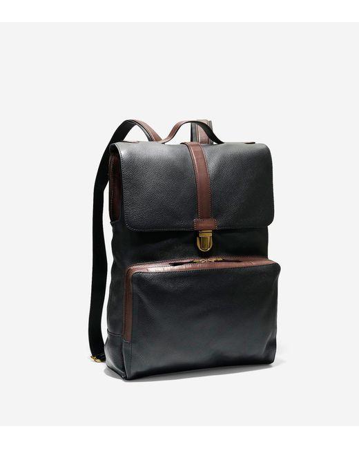 Cole haan Buchannon Backpack in Black for Men