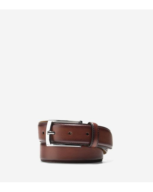 Cole Haan | Brown 32mm Feather Edge Belt for Men | Lyst