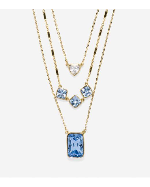 Cole Haan - Metallic Aurora Sky Triple Layered Necklace - Lyst