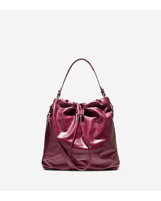 Cole Haan | Multicolor Stagedoor Leather Small Studio Bag | Lyst