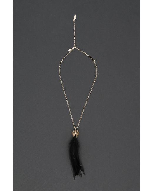 Lanvin - Black Pendant Necklace - Lyst