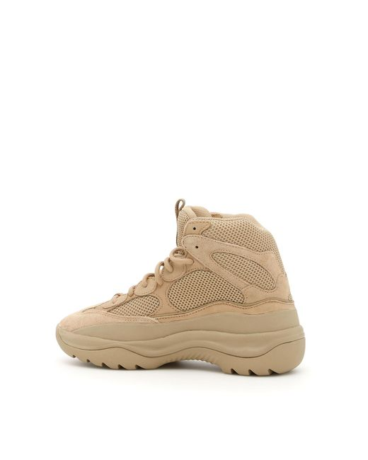 fd53054d2532f Yeezy Season 6 Desert Rat Boots in Natural for Men - Save 83% - Lyst