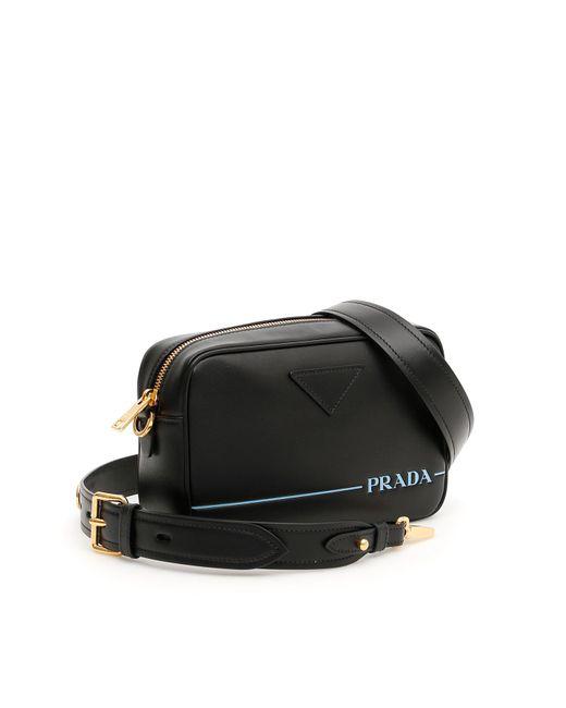 ead2b025670d09 ... Prada - Black Mirage Camera Bag - Lyst