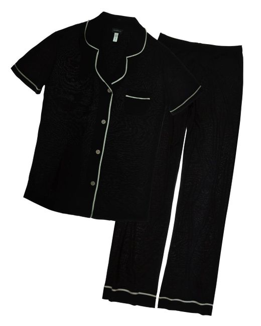 Cosabella - Black Bella Short Sleeve & Pants Pajama Set - Lyst
