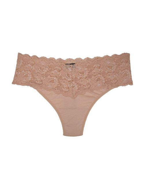 Cosabella | Pink Never Say Never Lovelietm Extended Thong | Lyst