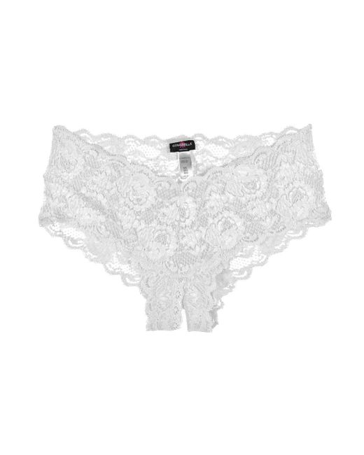 Cosabella | White Never Say Never Naughtie™ Lowrider Hotpant | Lyst