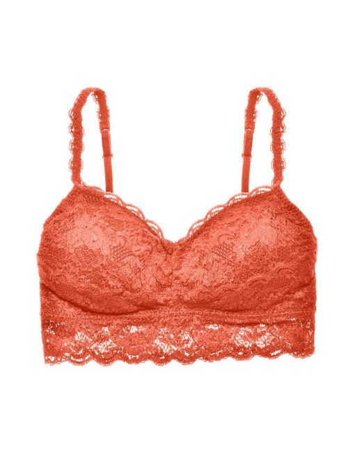 Cosabella | Red Never Say Never Padded Sweetietm Bralette | Lyst