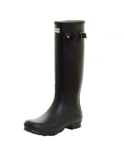Hunter - Black Norris Field Ladies Boot - Lyst