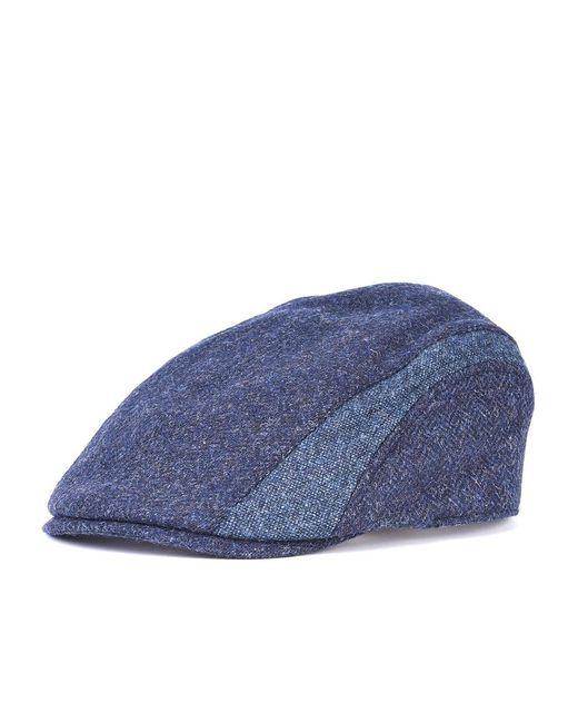 Barbour | Blue Herringbone Mens Tweed Cap for Men | Lyst