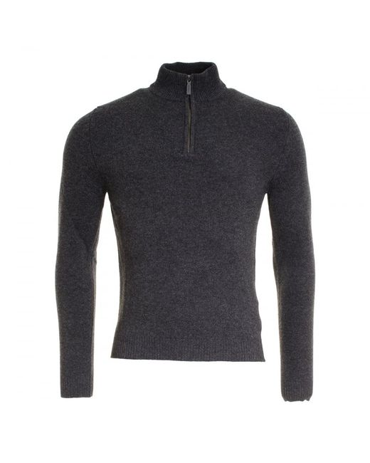 Woolrich - Blue Supergeelong Half Zip Mens Sweater for Men - Lyst