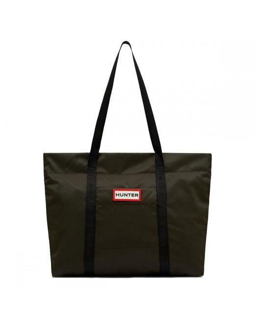 Hunter - Green Original Nylon Tote Bag - Lyst