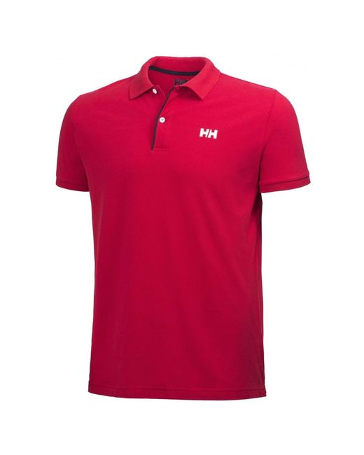 Helly Hansen | Red Crew Hh Classic Mens Polo for Men | Lyst