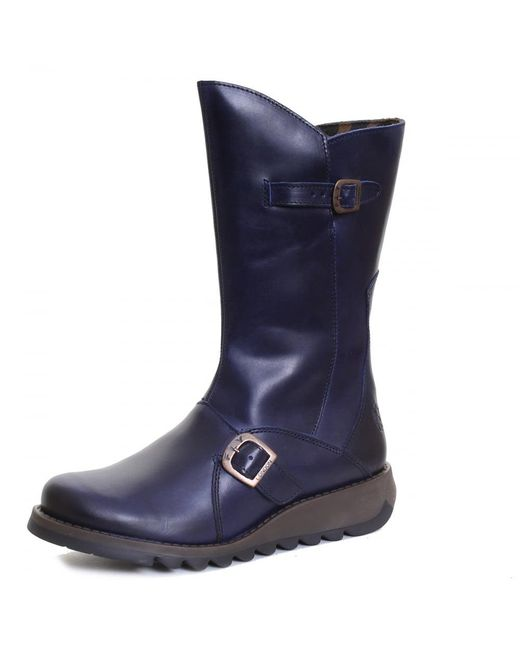 Fly London | Blue Mes 2 Ladies Boot | Lyst