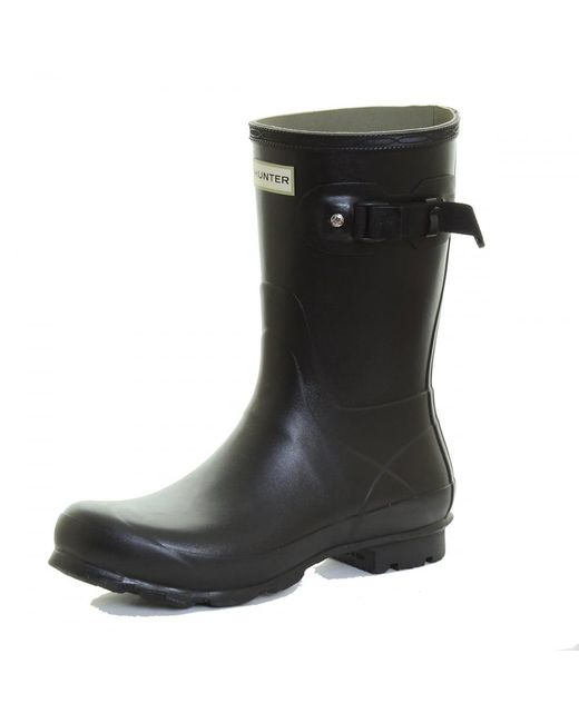 Hunter | Black Norris Field Short Ladies Boot | Lyst