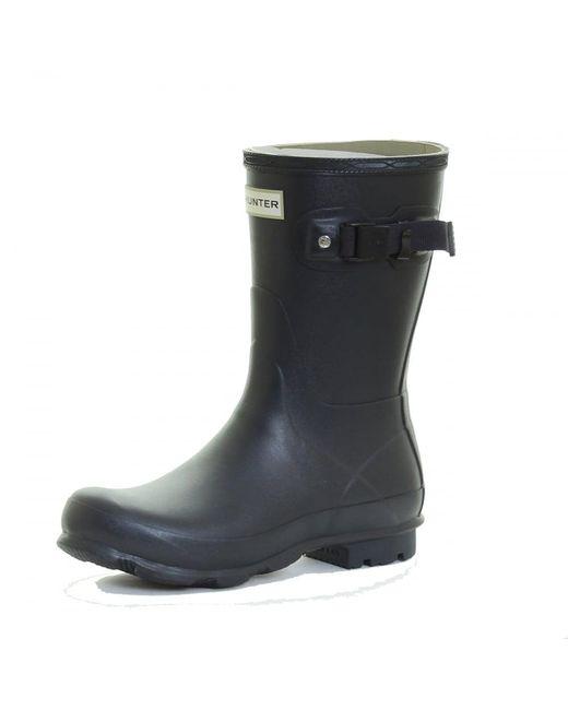 Hunter - Blue Norris Field Short Ladies Boot for Men - Lyst
