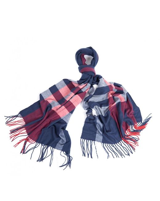 Barbour Blue Skye Checkwomens Scarf