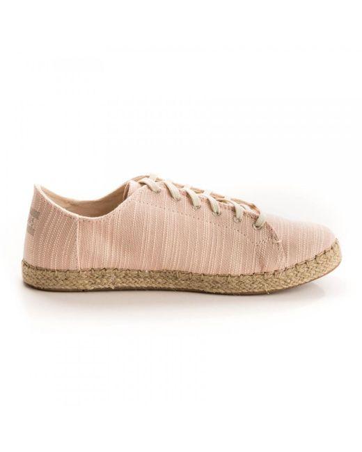 25029d15b ... TOMS - Multicolor Lena Bloom Slubby Cotton Womens Sneaker - Lyst ...