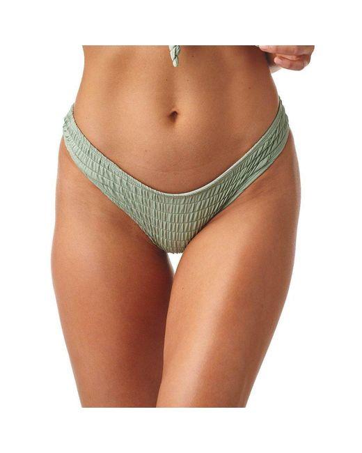 031984facb Montce Swim - Green Pistache Scrunch Additional Coverage Uno Bikini Bottom  - Lyst ...