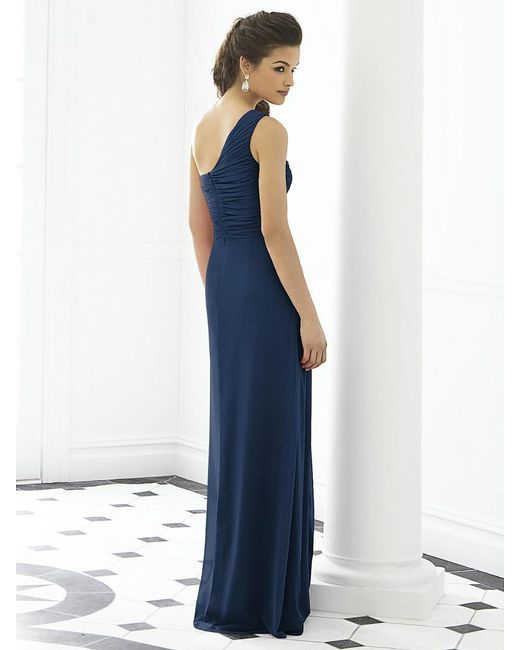 After Six   Blue Dress In Midnight   Lyst