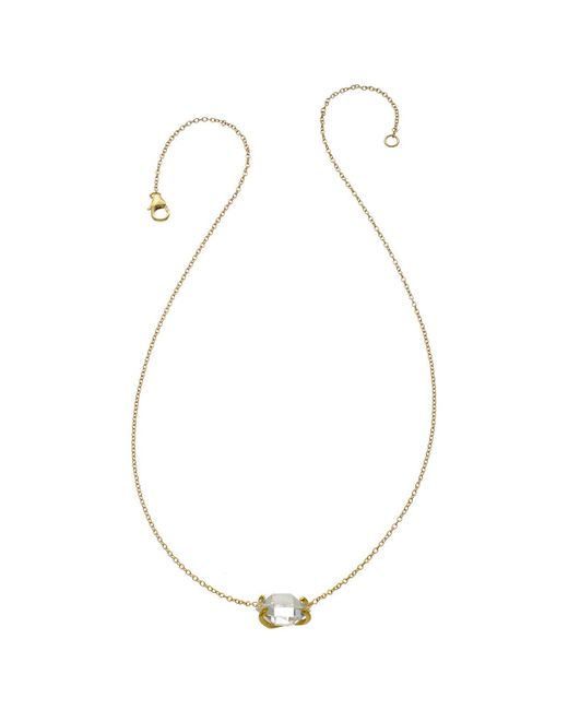 Heather Hawkins | Metallic Herkimer Diamond Necklace | Lyst
