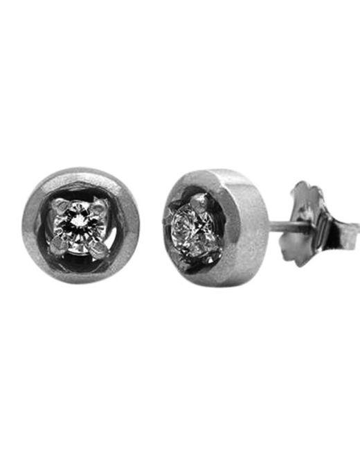 Avanessi - Metallic Halo Large Stud Earrings - Lyst