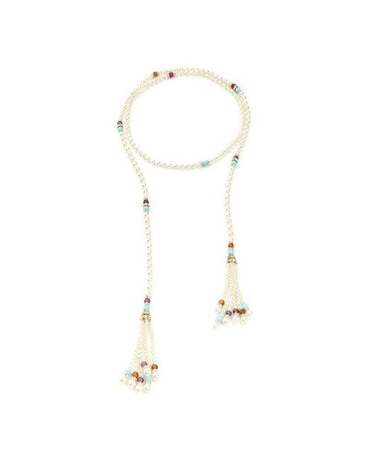 Ben-Amun - Multicolor Byzantine Pearl Wrap Necklace - Lyst
