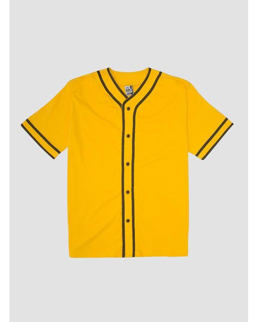 Chums - Yellow Playball Shirt for Men - Lyst
