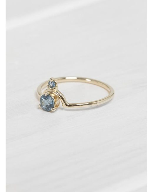 Wwake | Multicolor Nestled Stones Ring | Lyst