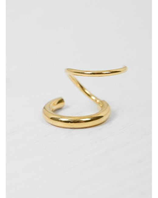 Maria Black | Metallic Dogma Twirl Right Earring | Lyst
