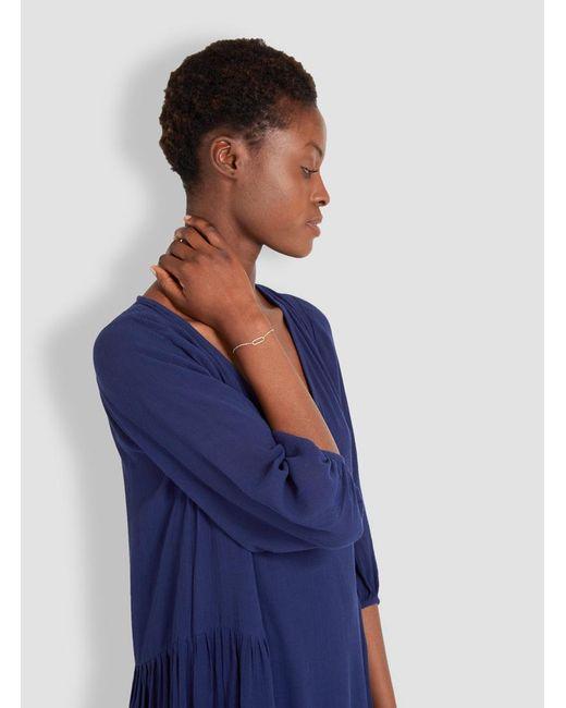 Helena Rohner   Blue Link & Chain Bracelet   Lyst
