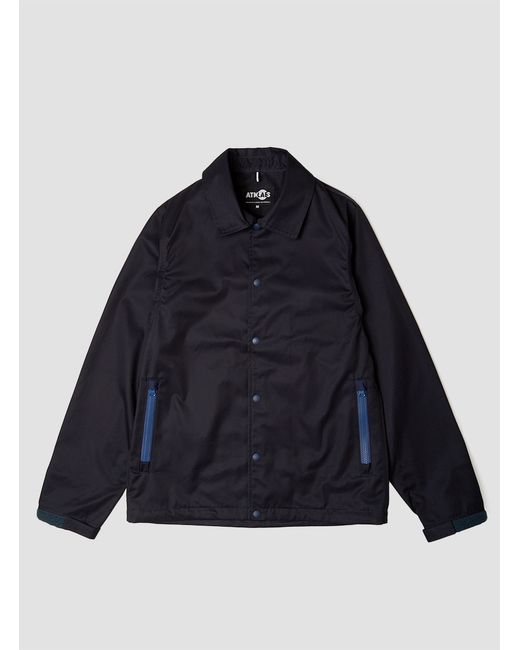 Atmos Lab | Blue Ventile Gabardine Coach Jacket for Men | Lyst