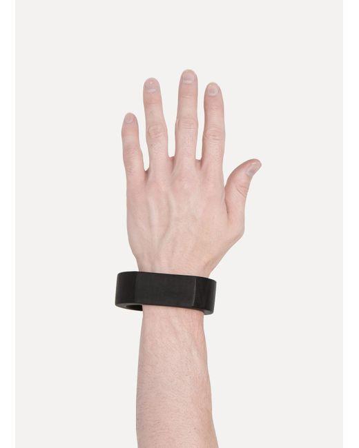 Parts Of 4   Black Crescent Plane Bracelet for Men   Lyst