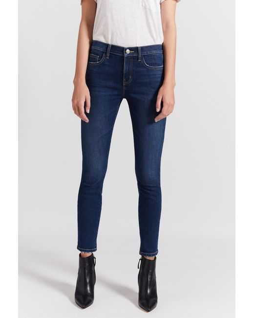 Current/Elliott - Blue The Stiletto Jean - Lyst