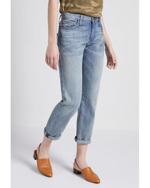 Current/Elliott - Blue The Boyfriend Jean - Lyst
