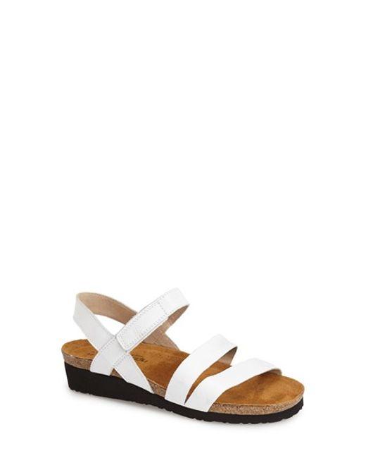 Naot | White 'Kayla' Sandal | Lyst
