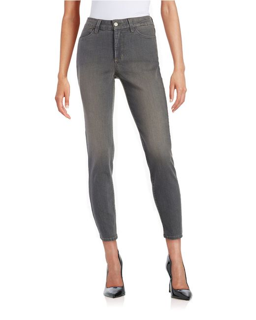 Nydj Straight-leg Ankle Jeans- Fall Rock in Gray (Fall ...