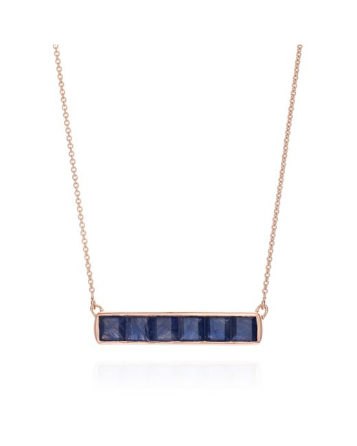 Monica Vinader | Blue Baja Precious Necklace | Lyst