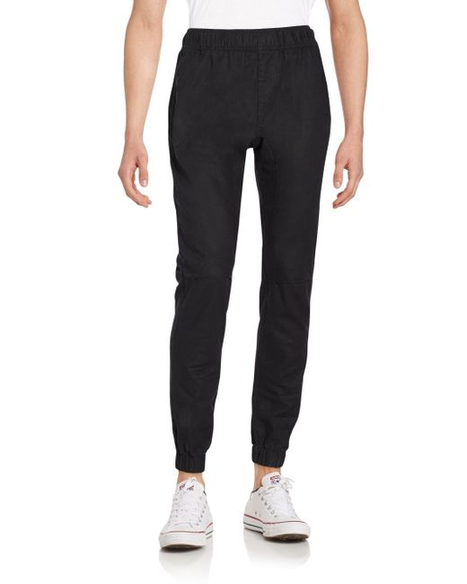 Lastest Ezekiel Bedford Cotton Jogger Pants In Blue Midnight  Save 63
